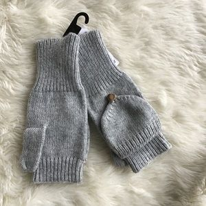 NWT H&M Gray Gloves